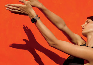 Source: Apple. The new Apple Watch Hermès will almost be flush with the wrist.