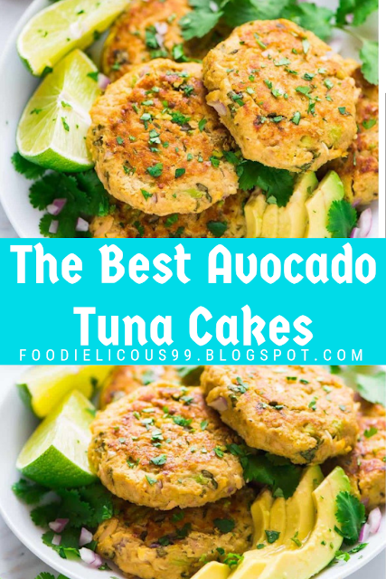 The Best Avocado Tuna Cakes