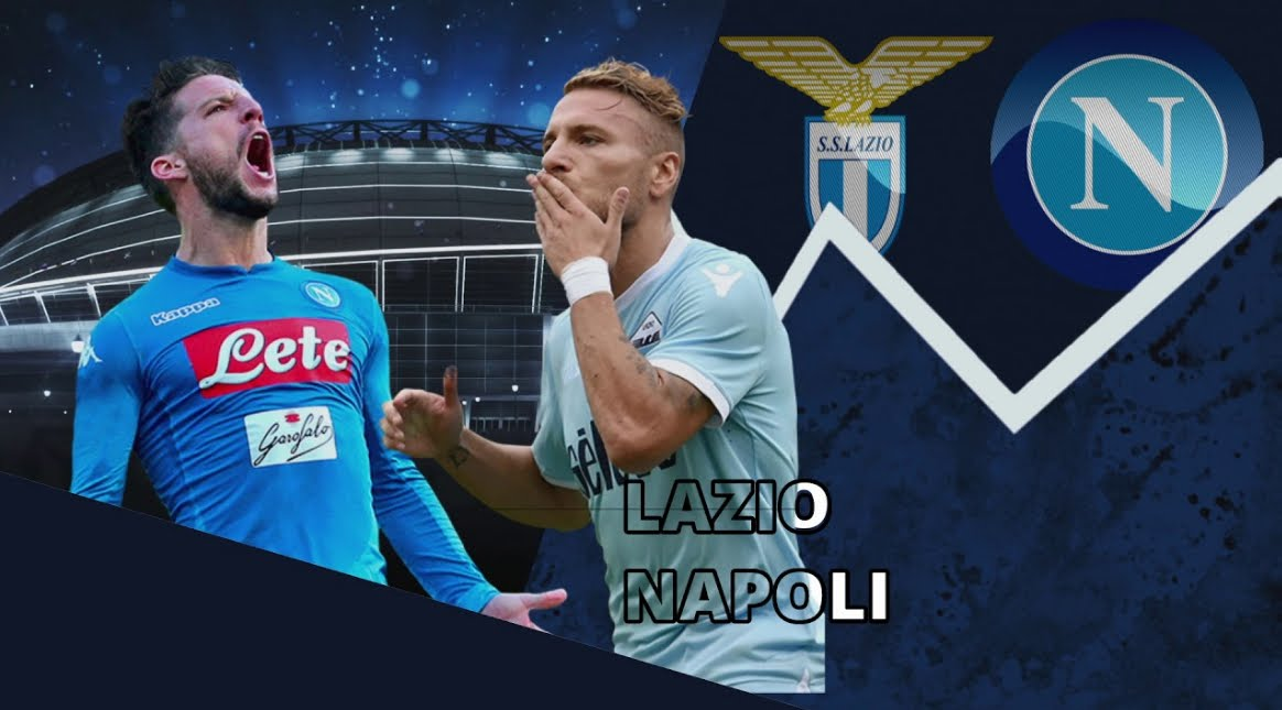 LAZIO NAPOLI Streaming Rojadirecta YouTube Facebook Dazn, come vederla Gratis con PC Cellulare e Tablet.