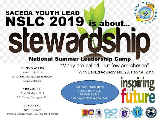 SACEDA YOUTH LEAD: 2019 NATIONAL SUMMER LEADERSHIP CAMP OF
