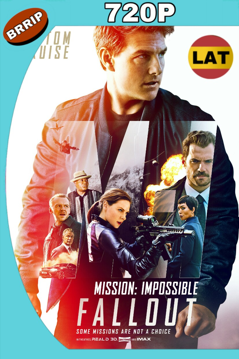 MISIÓN: IMPOSIBLE – REPERCUSIÓN (2018) BRRIP 720P LATINO-INGLES MKV