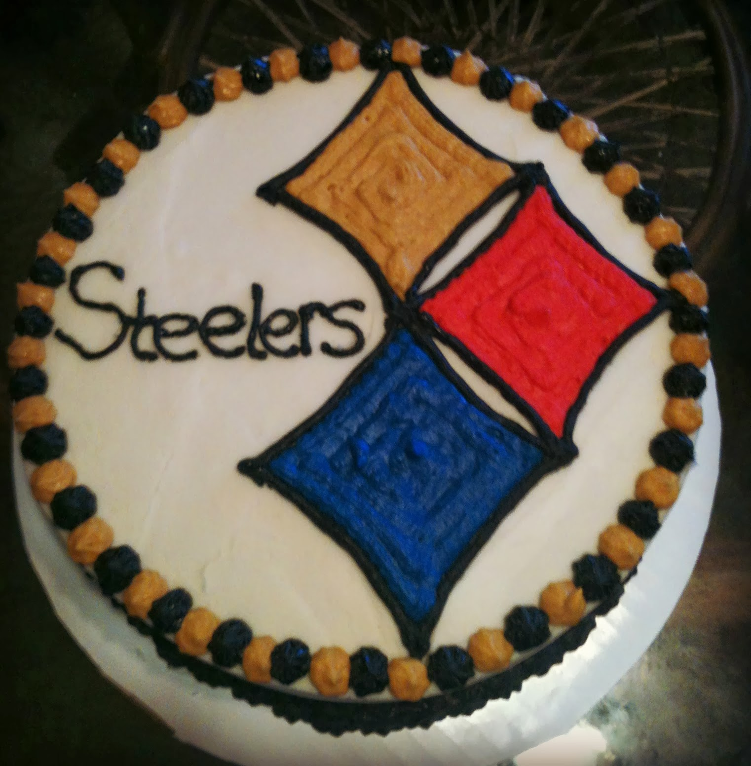 Mandy S Cakes Steelers Cake