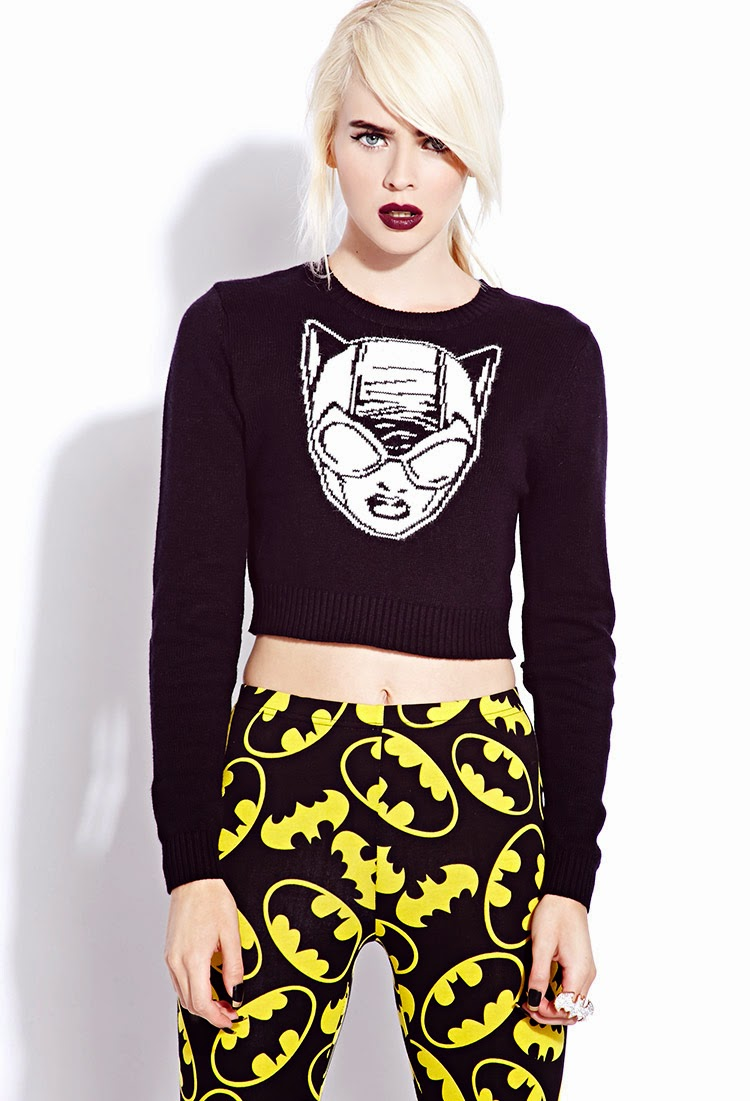 Forever 21 'Bats and Cats' Fall/Winter 2013 Lookbook