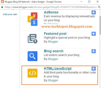 Create Menu Tabs In Blogger Blog 2