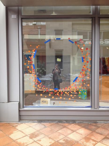 Kathryn Godwin Visual Artist Sozo Window Display