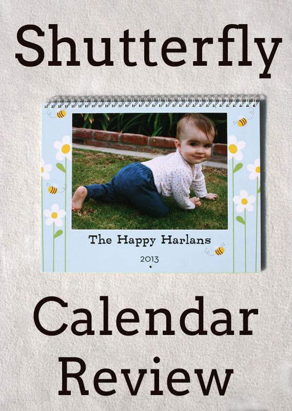 Sunshine Lollipops And Rainbows Shutterfly Calendar Review