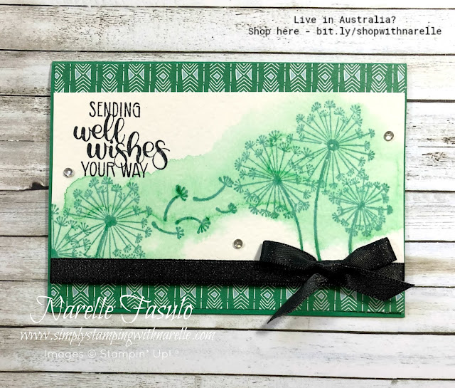 Create projects that evoke childhood memories with the Dandelion Wishes stamp set. Get yours here - http://bit.ly/DandelionWishesStamp
