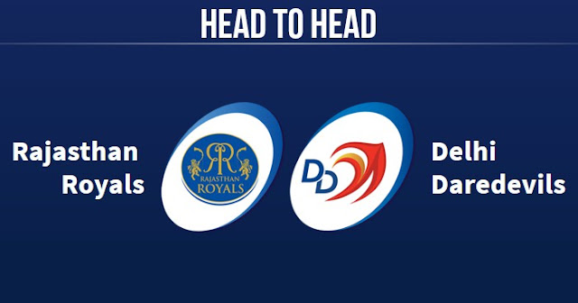 RR vs DD Head to Head: DD vs RR Head to Head IPL Records