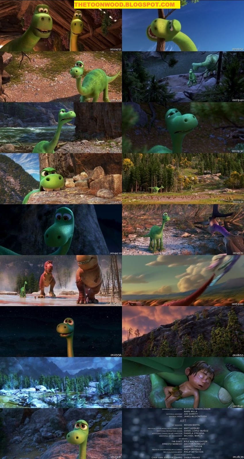 """The Good Dinosaur (2015)""  In Hindi Dubbed Full Movies In 720p,Hd Only On TOONWOOD"