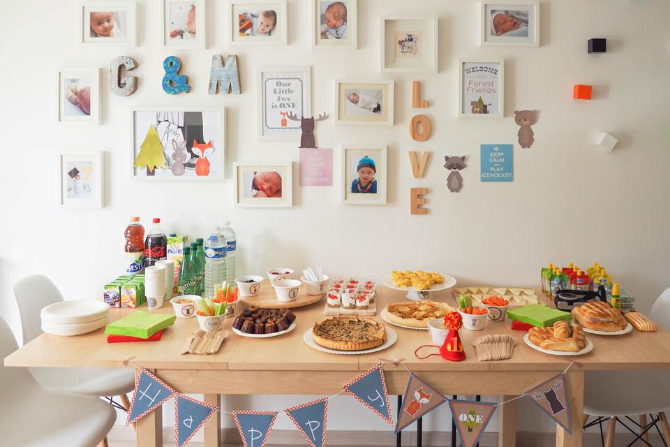 Maternité: Premier anniversaire de Timeo
