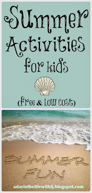 Free and Low Cost Summer Activities for Kids