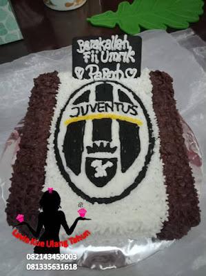Kue Tart Ultah Butter Cream Juventus