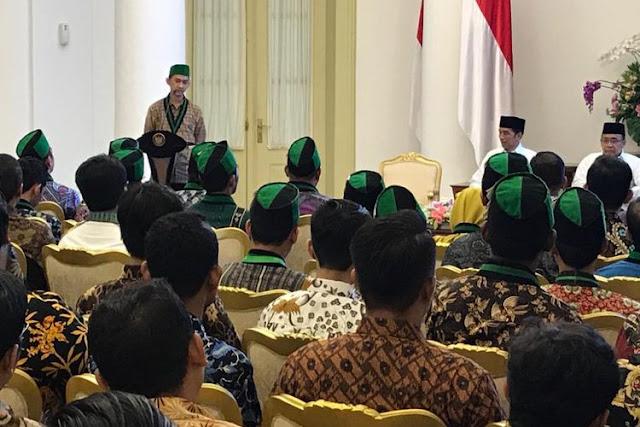 Di Hadapan Presiden, HMI Sampaikan Sembilan Tuntutan Rakyat Indonesia