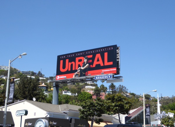 UnREAL 2016 Emmy nomination billboard