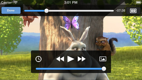 Play mkv and other video file formats on your iOS devices with the best video player, the VLC Player
