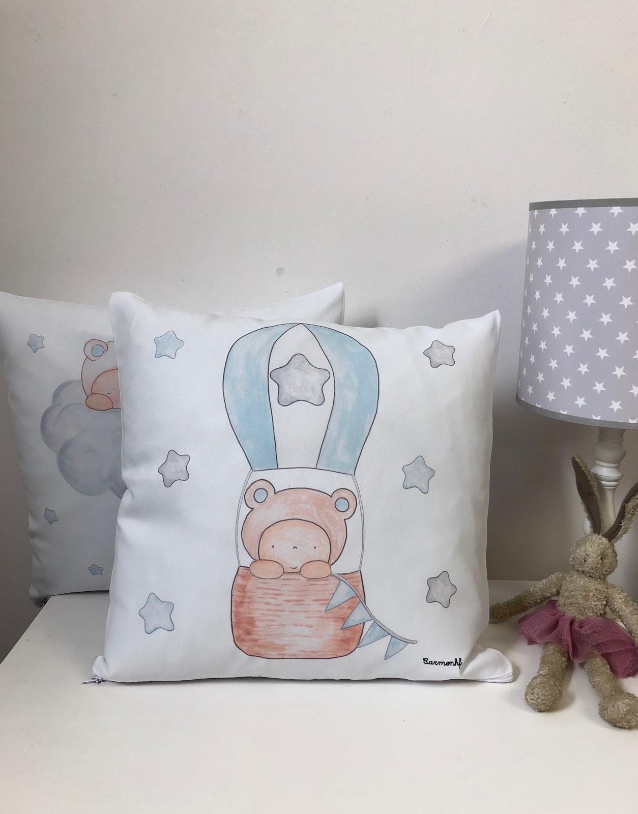 Los cojines infantiles personalizados m s bonitos para los - Cojines bonitos ...