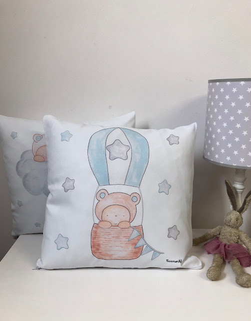 cojines infantiles personalizados  bonitos para peques