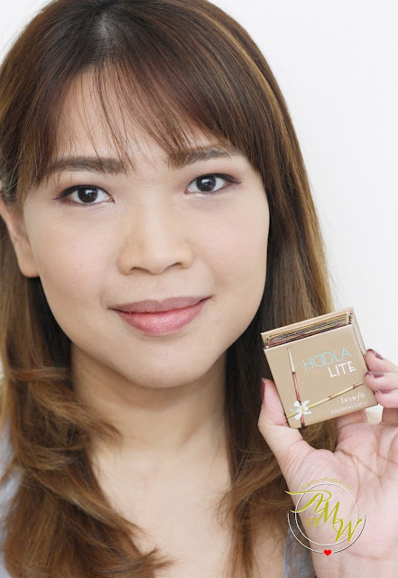 a photo of nikki tiu askmewhats wearing Benefit HOOLA Lite Review