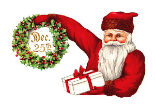 Santa Digital Clip Art