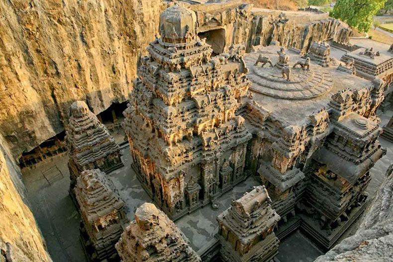 10 imágenes del templo Kailasa que demuestran que las antiguas civilizaciones poseían tecnología avanzada