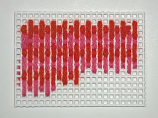 sample of stitch for strawberries