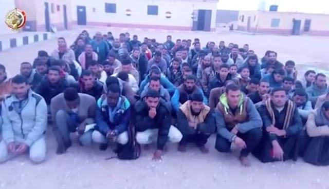 بيان القوات المسلحة بشأن العملية الشاملة في سيناء