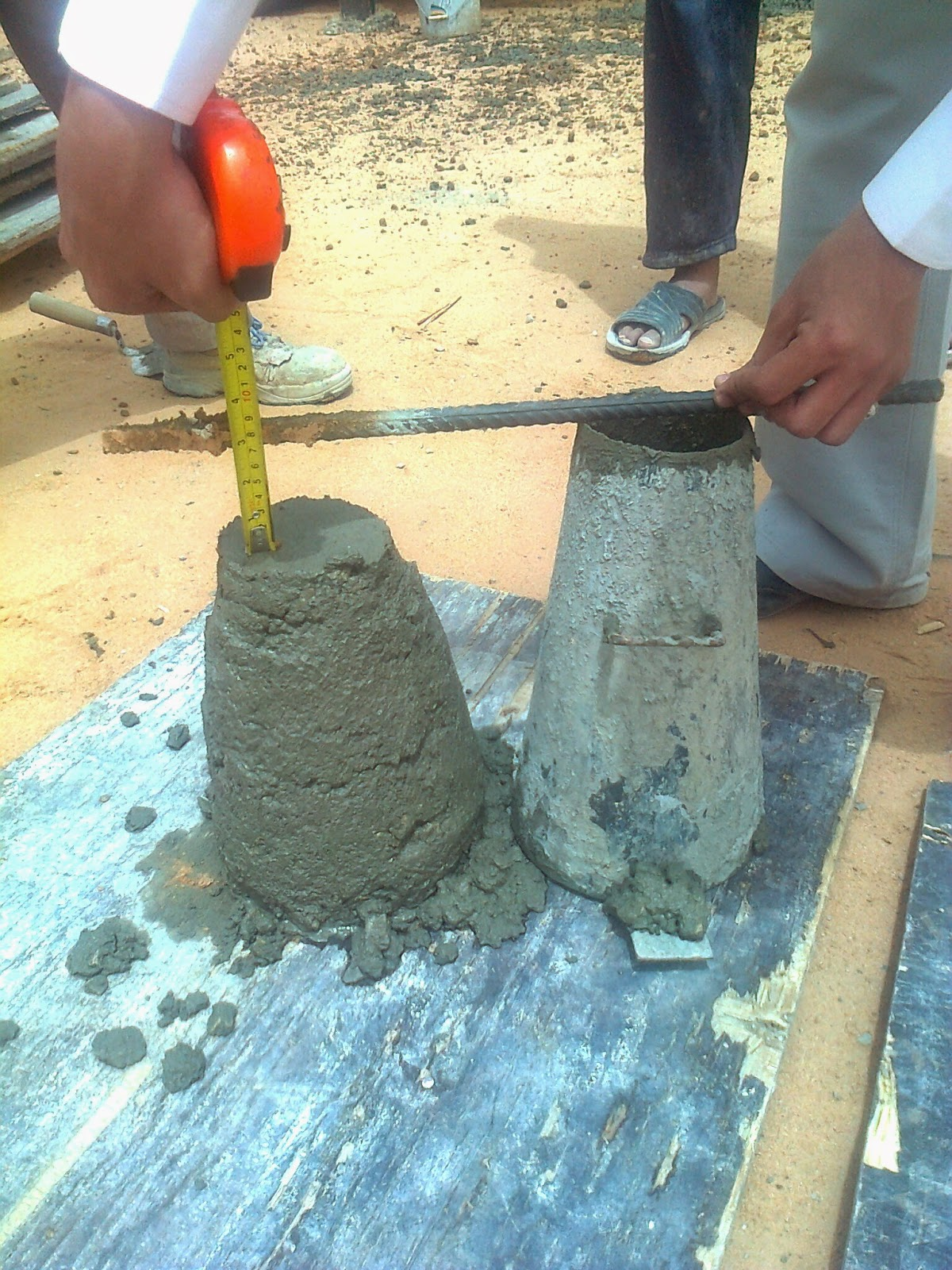 Slump Test by Engineer Muhammad Arfan
