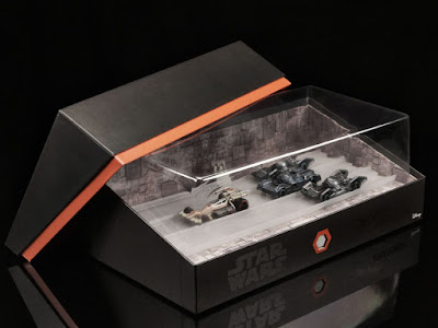 San Diego Comic-Con 2016 Exclusive Star Wars Death Star Trench Run Hot Wheels Box Set