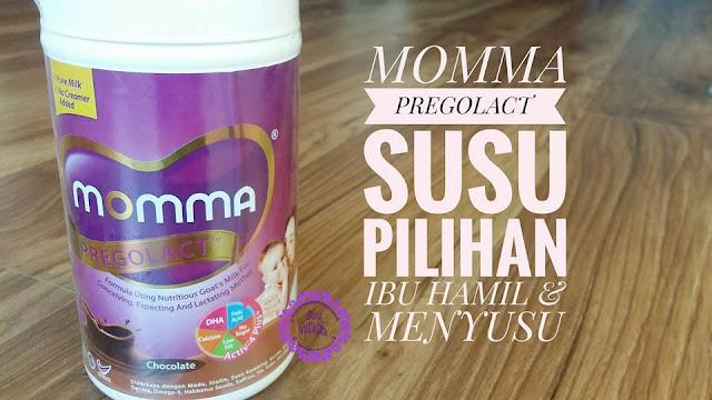 MOMMA PREGOLACT | SUSU UNTUK IBU HAMIL DAN MENYUSU