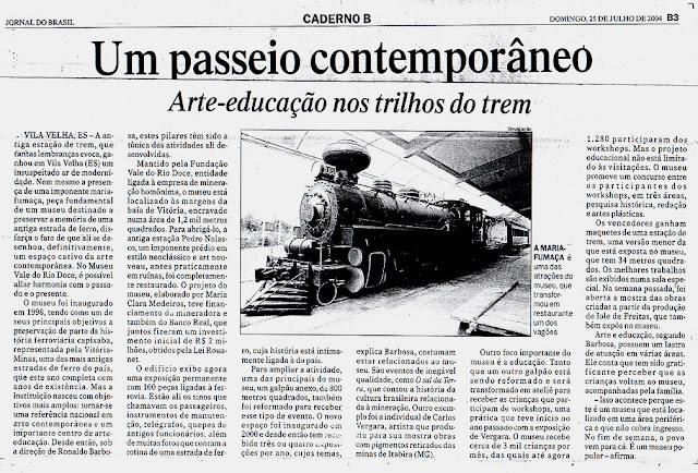 Publicado no Jornal do Brasil, 25/07/2004.