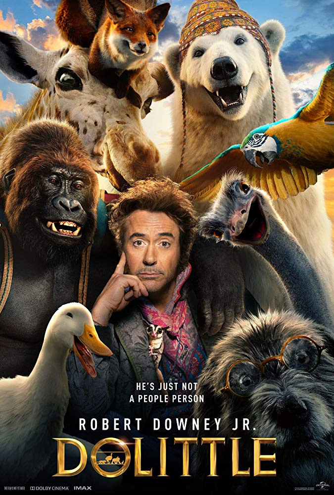 Dolittle (2020) Hindi Dual Audio HDTSRip Download