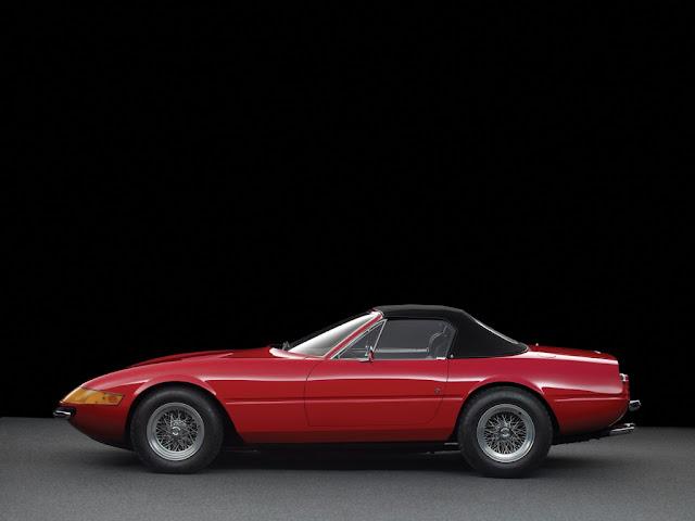 Ferrari Daytona Spyder ingresa a la subasta RM Sotheby's Rétromobile