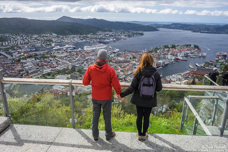 Vista panorâmica sobre Bergen