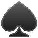Spade emoji