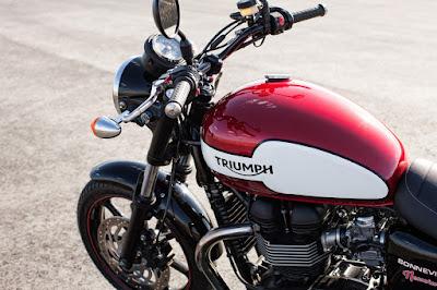 2016 Triumph Bonneville T100 profile image