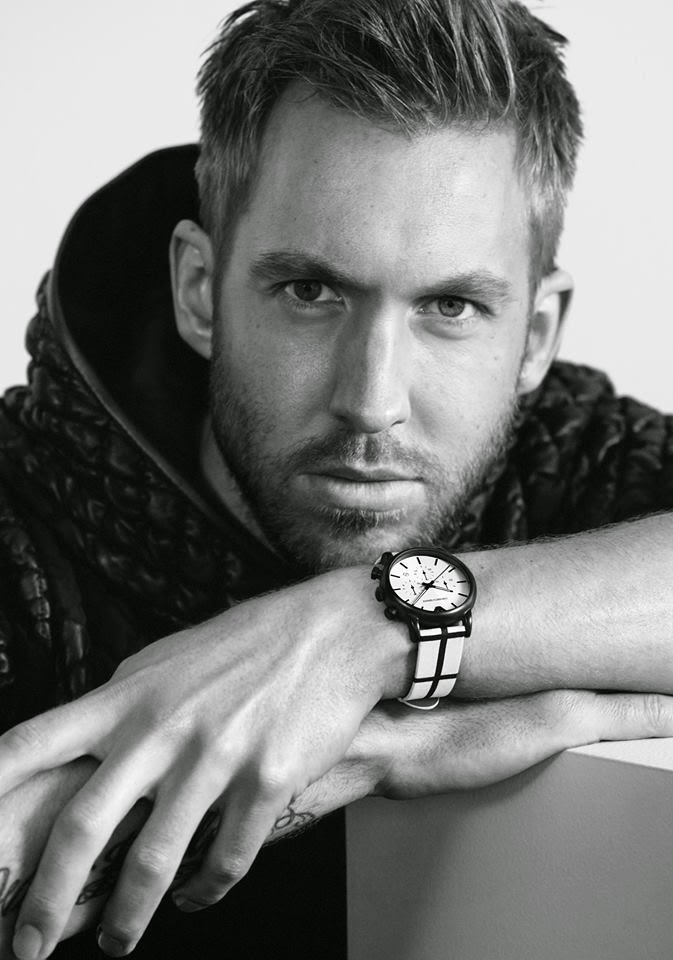 Calvin Harris is the face of the Emporio Armani Spring/Summer 2015 Campaign