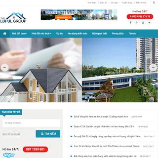 theme blog bất động sản nhà đất