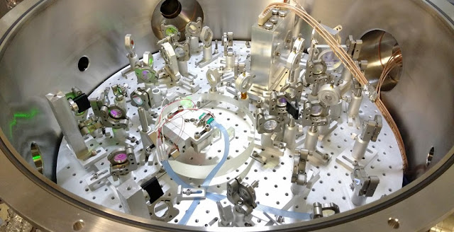 A new squeezed vacuum source could make gravitational wave detectors sensitive enough to study neutron stars. Credit: Eric Oelker, Massachusetts Institute of Technology