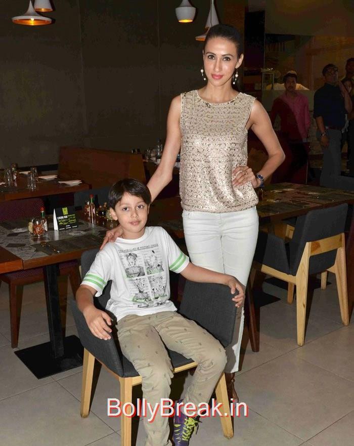 Alesia Raut, Hot Pics of Amrita Arora Amy Billimoria At  Launch Of 'Shine Young 2015'