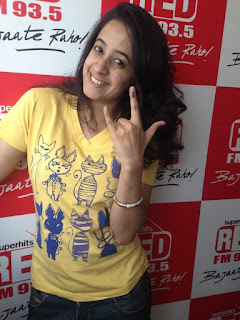 Cute Indian Radio Jockey PICs, Lovey Indian  Radio Jokey Photo