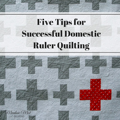 Five Tips for Successful Domestic Ruler Quilting | Meadow ...