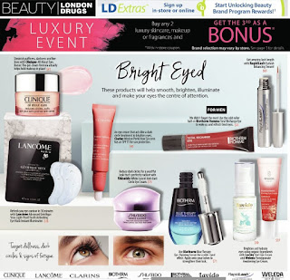 London Drugs Flyer Luxury Event January 4 – 13, 2019