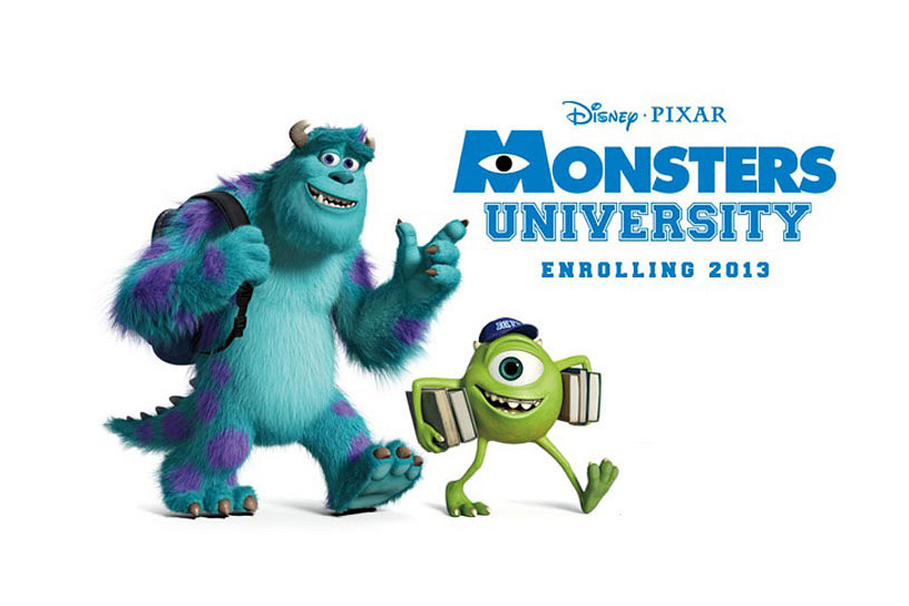小孩不笨@香港: 「怪獸大學」Monsters University 給了什麼啟發