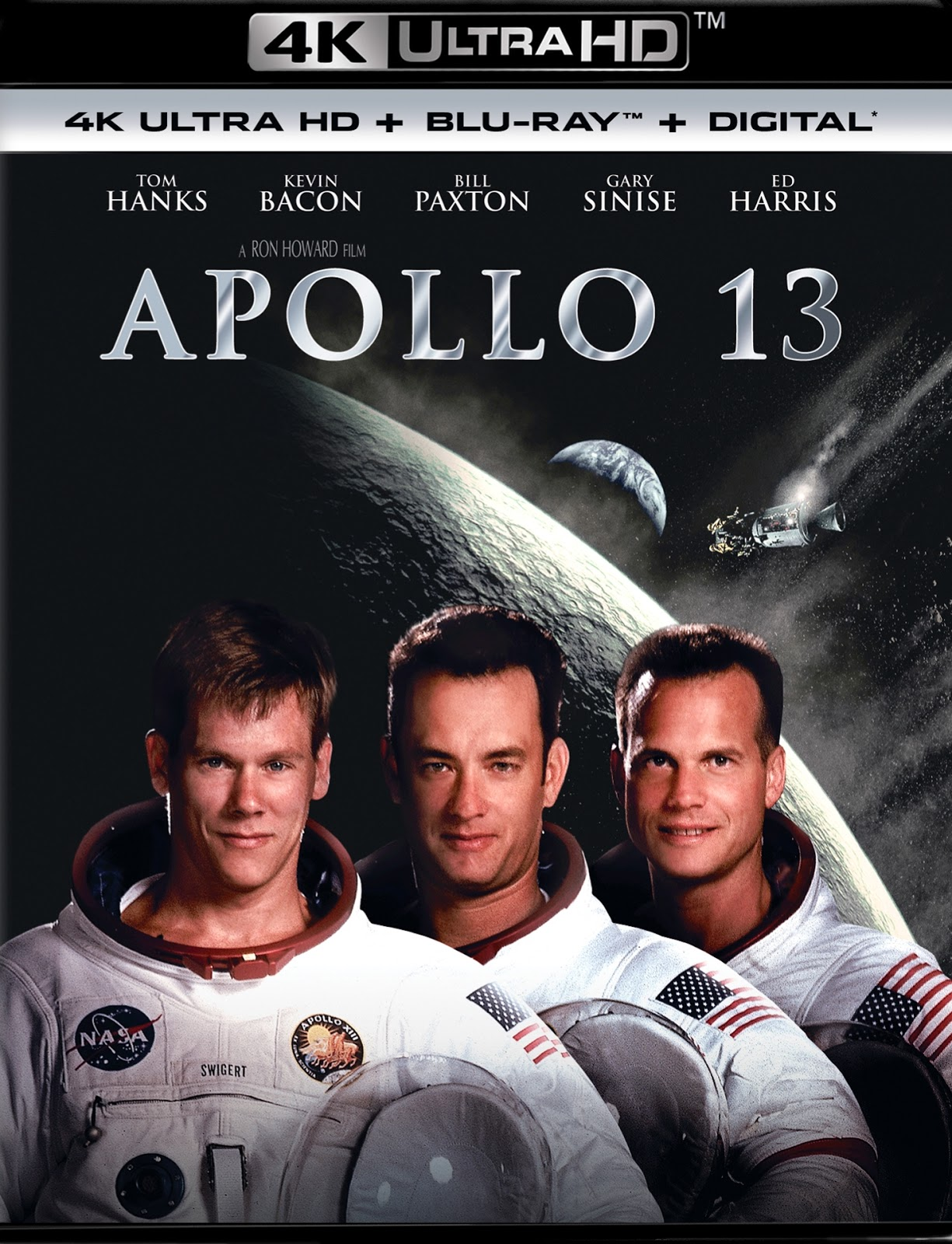 APOLLO 13: 4K Ultra HD Blu-ray (Universal, 1995) Universal