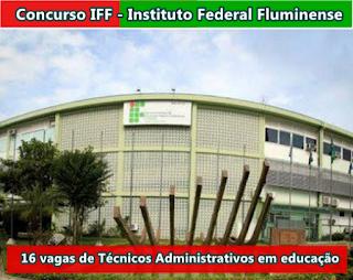 iff fluminense_abre-concursos-2017-2018