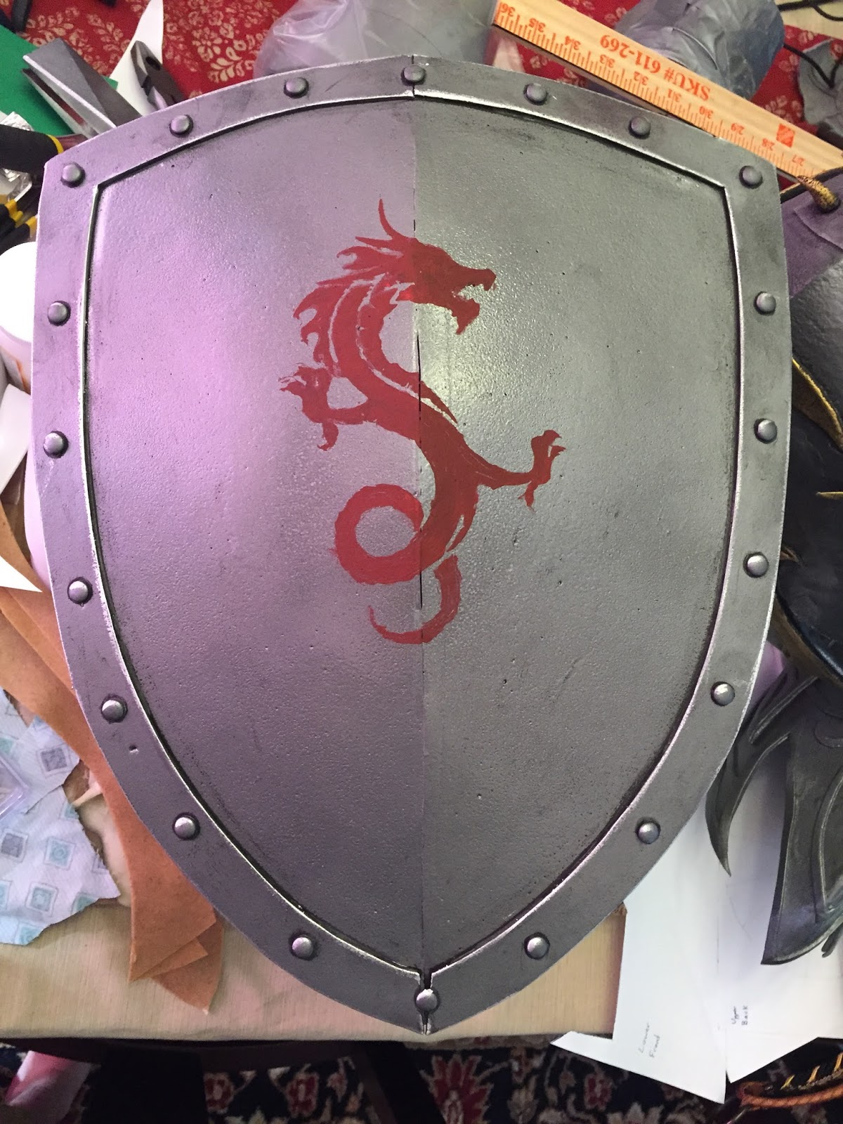 Parts And Krafts Cheap And Easy Foam Knight Shield