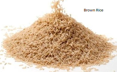 5 benefits of brown rice.
