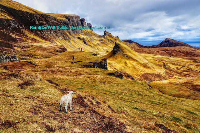 Quiraing, Isle of Skye, Scotland, UK