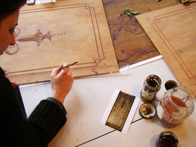 Falkép és festményretaurálás az Ecsetvonás restaurátor műteremben