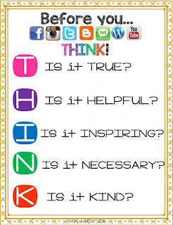 Digital Citizenship Posters by Krystal Plott